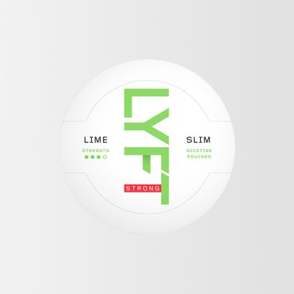 Lyft Lime Strong Slim All White