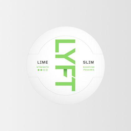 Lyft Lime Slim All White