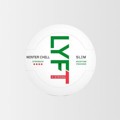 Lyft Winter Chill X-Strong Slim All White