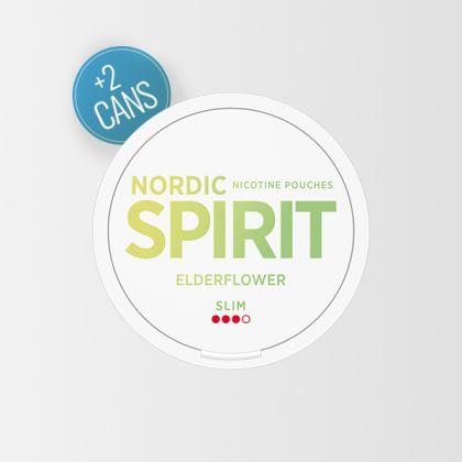 Nordic Spirit Elder Flower Slim All White