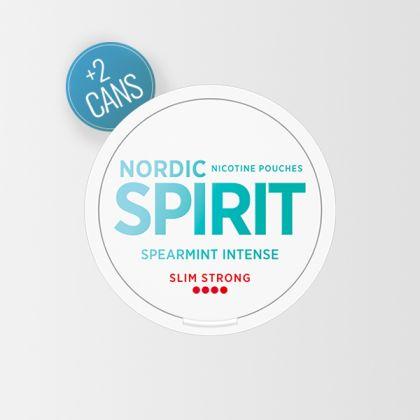 Nordic Spirit Spearmint Intense Strong Slim All White