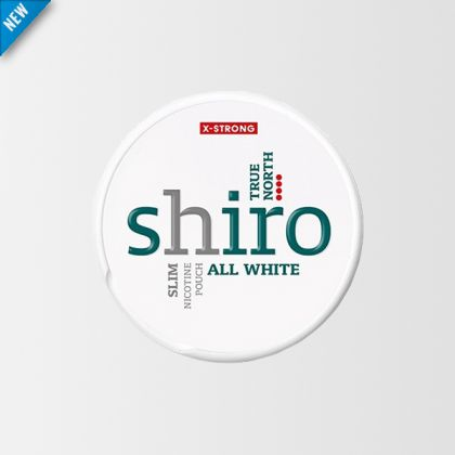 Shiro True North Slim All White