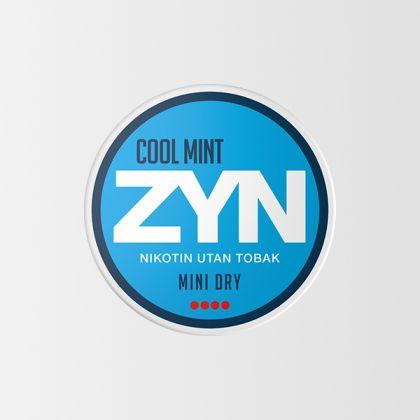 ZYN Cool Mint Mini Dry Strong