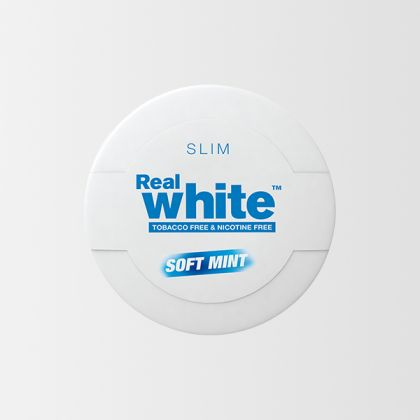 KickUp Real White Soft Mint Slim