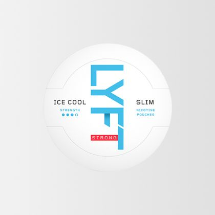 Lyft Ice Cool Mint Strong Slim All White