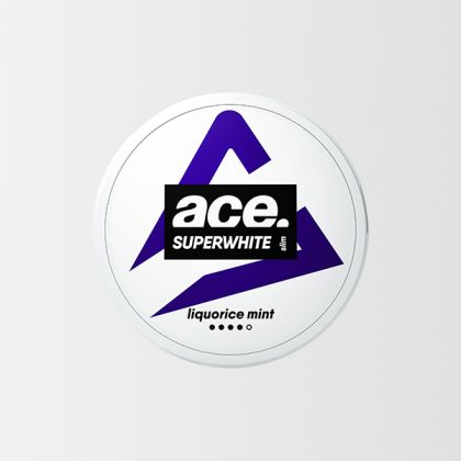 Ace Super White Licorice Mint