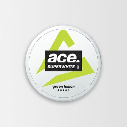 Ace Super White Green Lemon