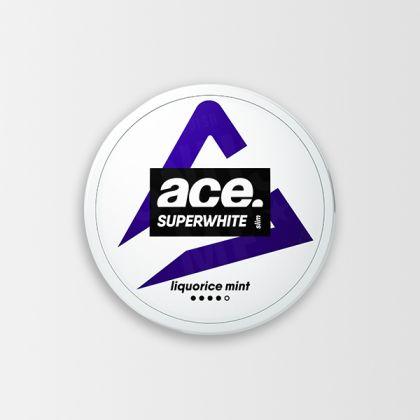 Ace Super White Licorice Mint