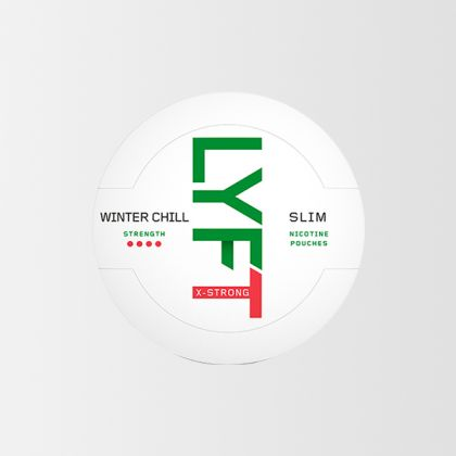 Lyft Winter Chill X-Strong Slim All White
