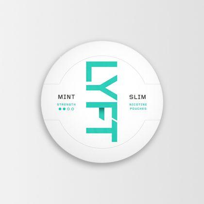 Lyft Mint Slim All White