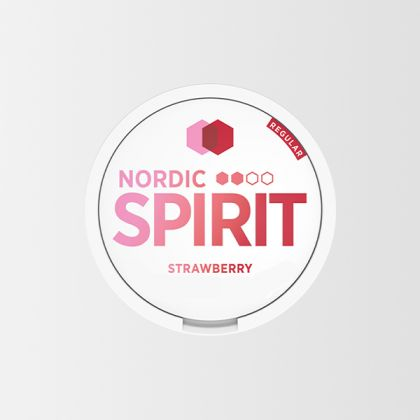 Nordic Spirit Strawberry Slim All White