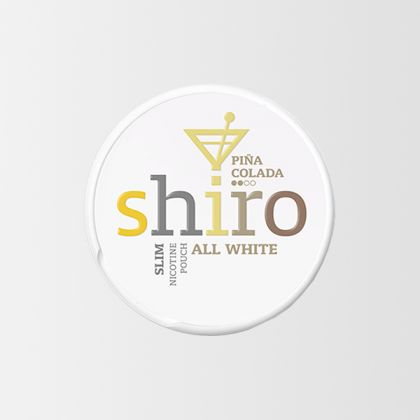 Shiro Pina Colada Slim All White