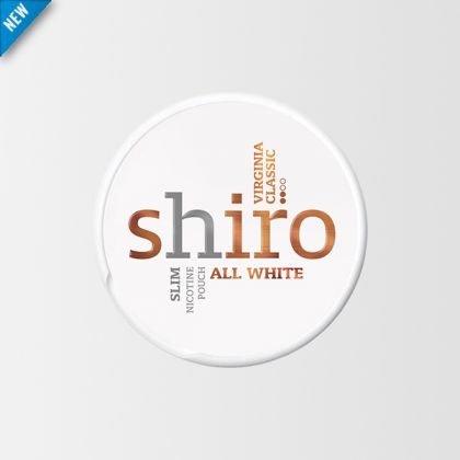 Shiro Virginia Classic Slim All White