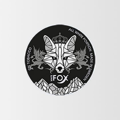 White Fox Black Slim All White