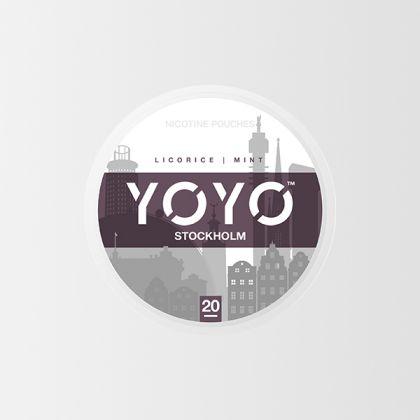 YOYO Stockholm Licorice Mint