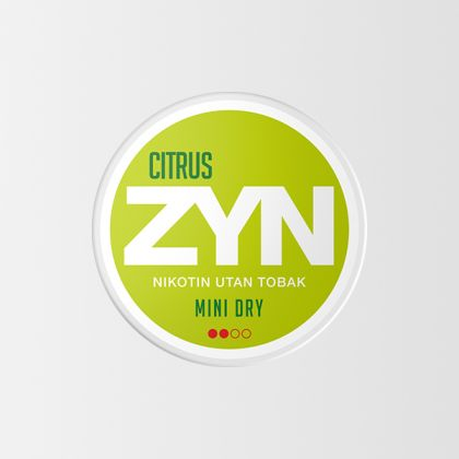 ZYN Citrus Mini Dry