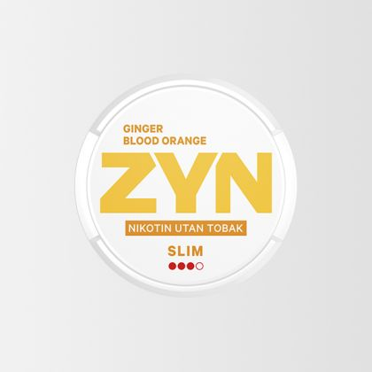 ZYN Blood Ginger Orange Slim