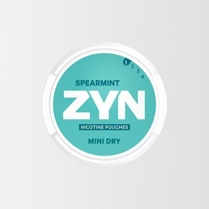 ZYN Mini Dry Spearmint