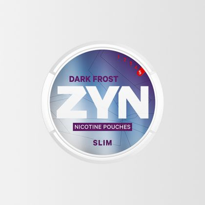 ZYN Dark Frost Slim All White